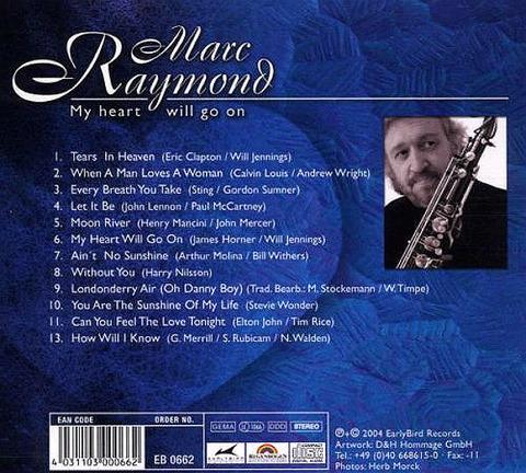 Marc Raymond - My Heart Will Go On back