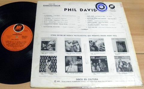 Phil David - La aventura back (1972)
