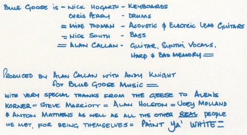 Blue Goose UK