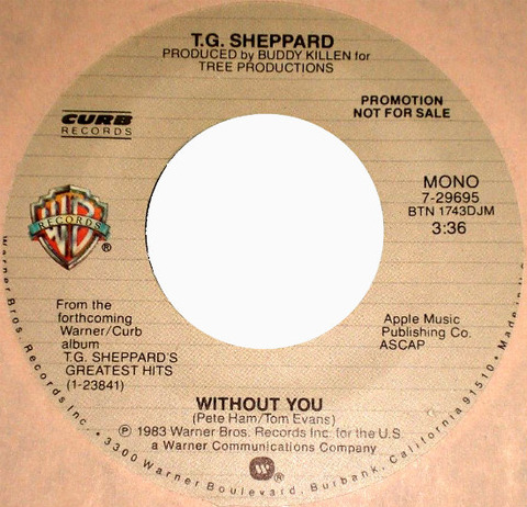 T.G. Sheppard - Without You