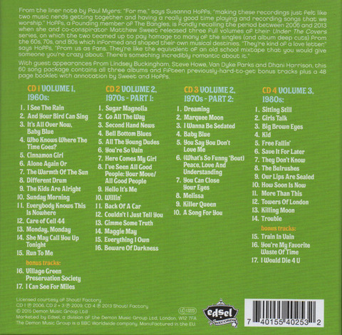 Matthew Sweet and Susanna Hoffs 2015 4CD b