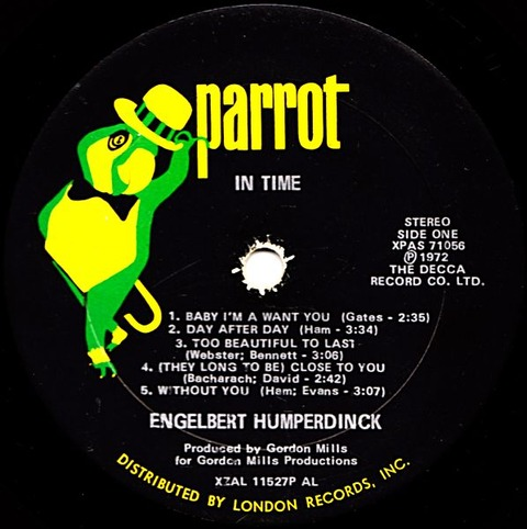 Engelbert Humperdinck - XPAS 71056 r
