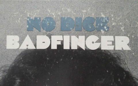 Badfinger - No Dice blue title print