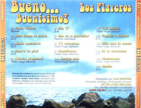 Los Playeros - Bueno Buenísimo b