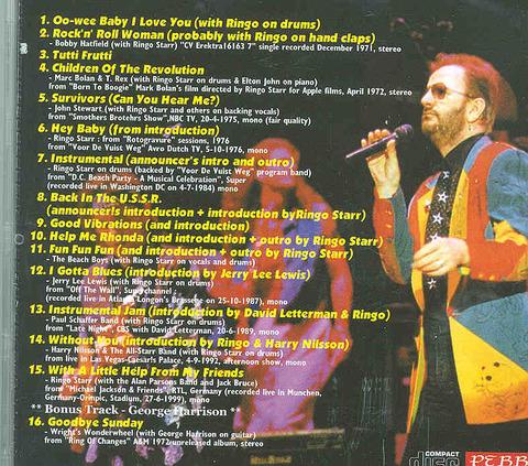 Ringo Starr - I Gotta Blues back