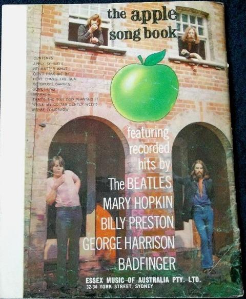 The Apple Song Book 1970 Australia b