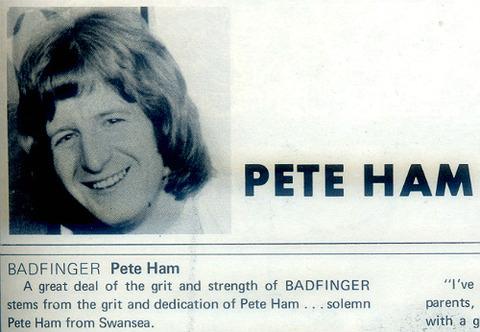 Pete Ham 22