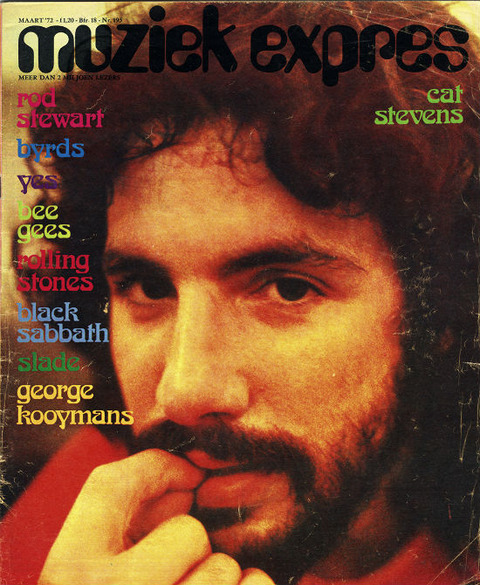 Muziek Expres #195 (March 1972) cover