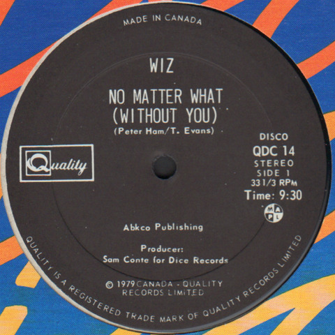 Wiz - No Matter What (Without You) 1979