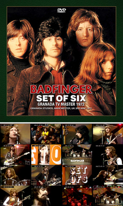 Badfinger - Set of Six Granada TV Master 1972 (DVDR)
