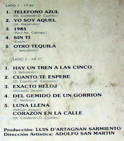 Pelusa - Teléfono azul LP b