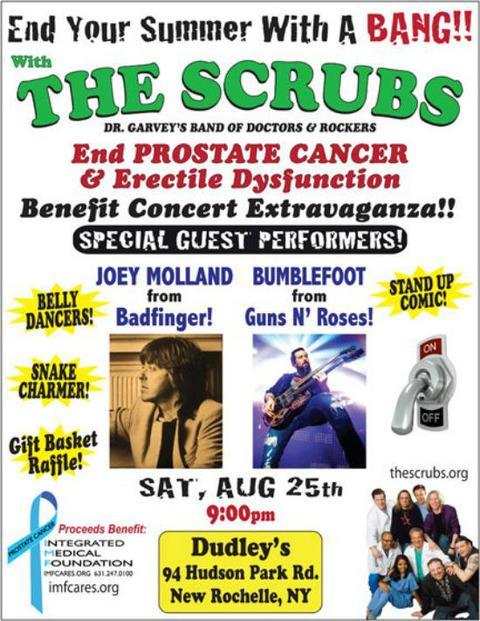 The Scrubs feat Joey Molland Aug 25, 2012