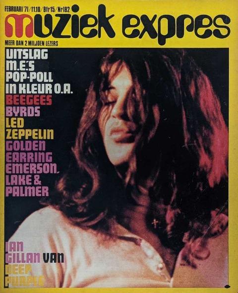 Muziek Expres #182 (February 1971) cover