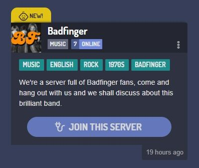discord Badfinger