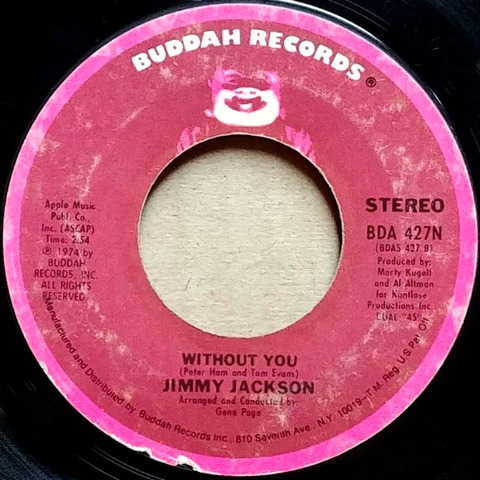 Jimmy Jackson - Without You BDA 427N