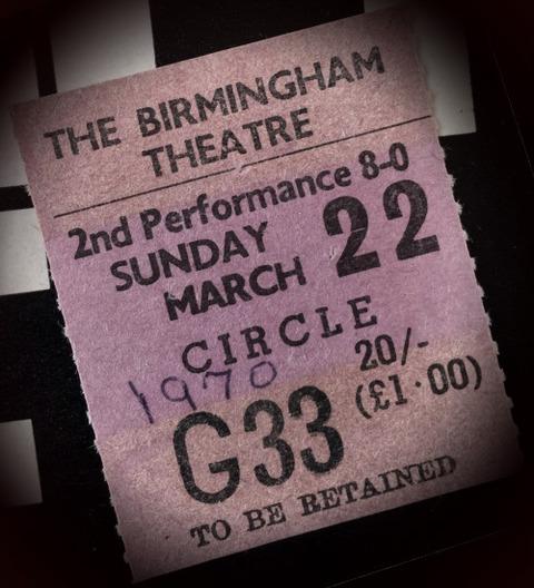 Badfinger Birmingham Theatre (Mar 22, 1970) t