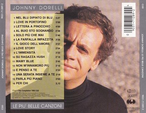 Johnny Dorelli - Le più belle canzoni back
