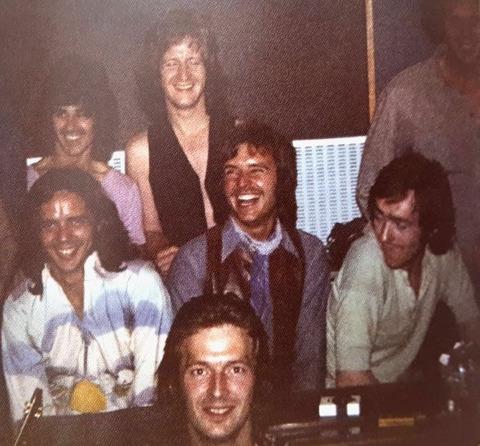 Tom, Pete, J Gordon, B Whitlock, G Wright, D Mason, Clapton ATMP