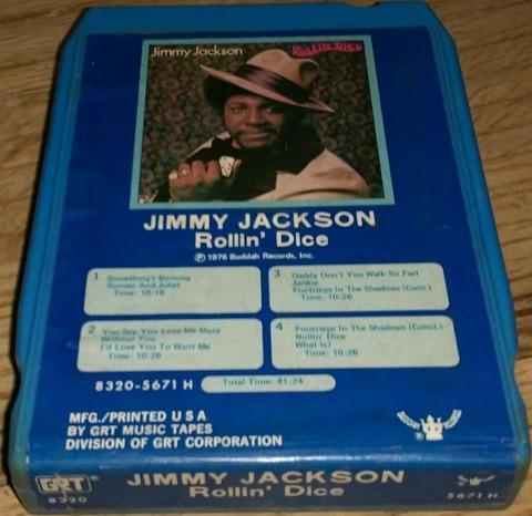 Jimmy Jackson - Rollin' Dice 8-track
