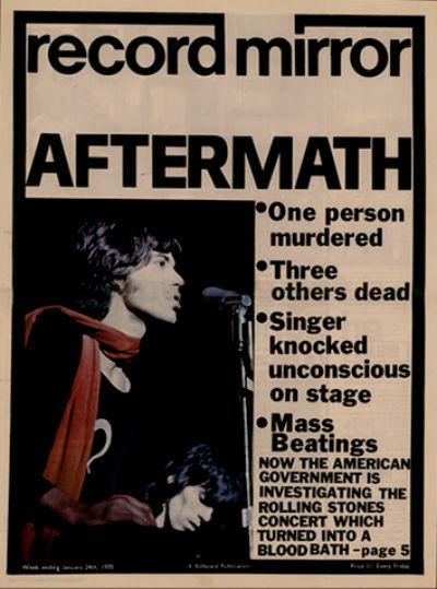 Record Mirror Jan 24 1970 cover
