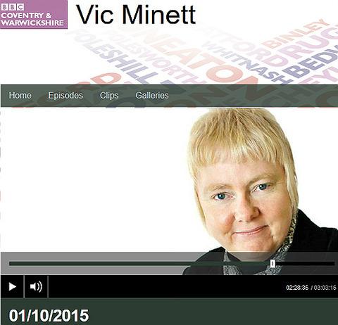 BBC Vic Minett
