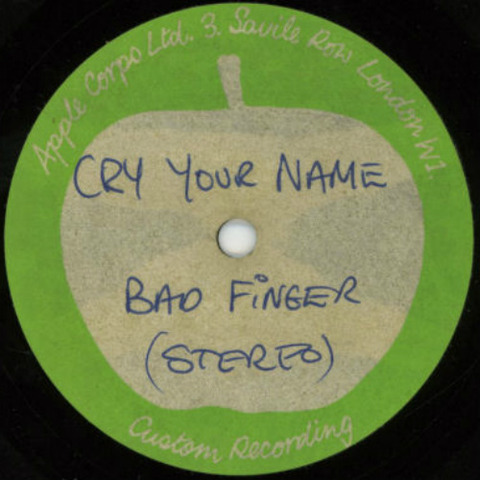 Badfinger Acetate Cry Your Name