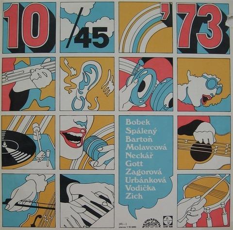 Pavel Bartoň - 10 45 na '73 (1973)