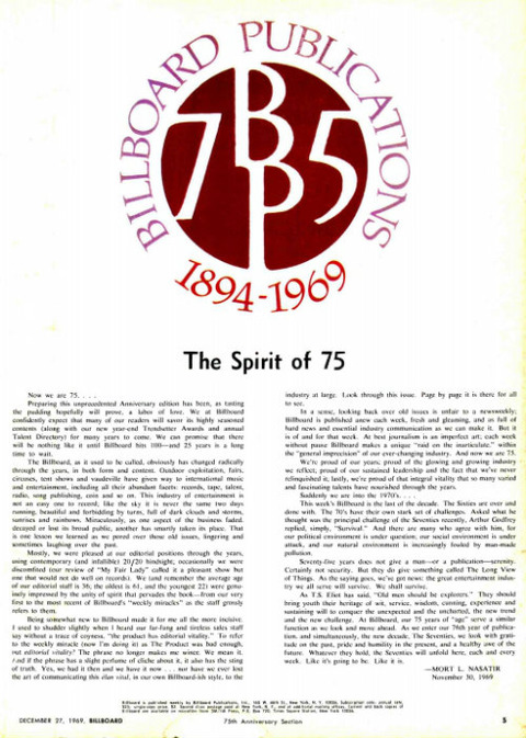 Billboard 1969-12-27 75th-Anniversary