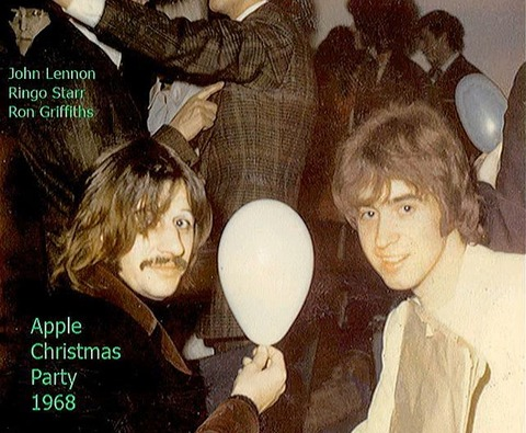 Apple Christmas Party 1968