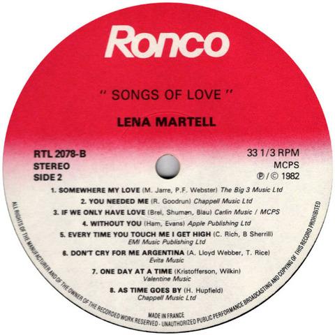 Lena Martell - RTL 2078-B r2