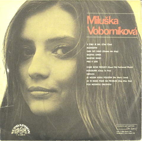 Miluška Voborníková - Miluška Voborníková back
