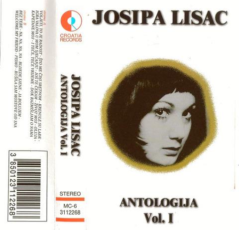 Josipa Lisac - Antologija Vol 1 cass