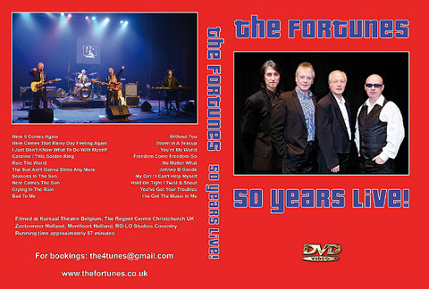 The Fortunes 50 years Live DVD b
