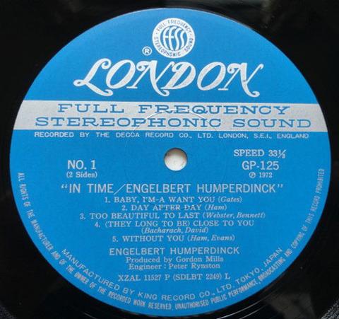 Engelbert Humperdinck - GP-125 r