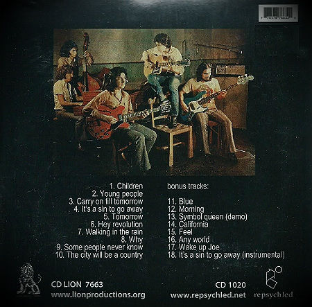 We All Together 2013 CD back
