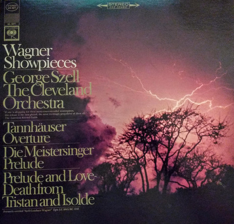 Wagner Showpieces~George Szell LP