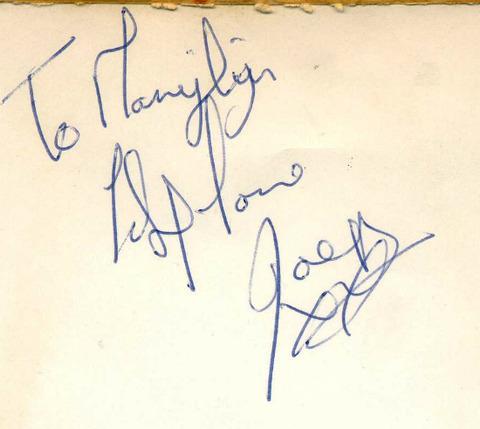 Pitney tour 1970 Joey
