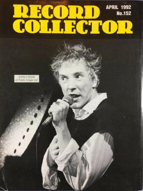Record Collector #152 (April 1992) b cover