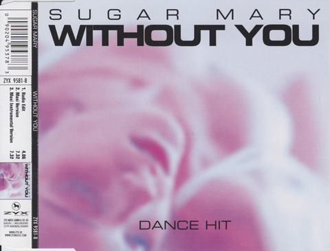 Sugar Mary - Without You 9581-8