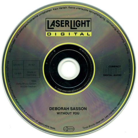 Deborah Sasson Without You r