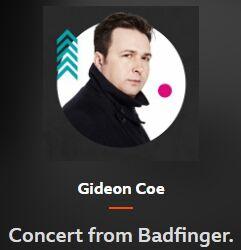 BBC RADIO 6 MUSIC Gideon Coe Concert from Badfinger