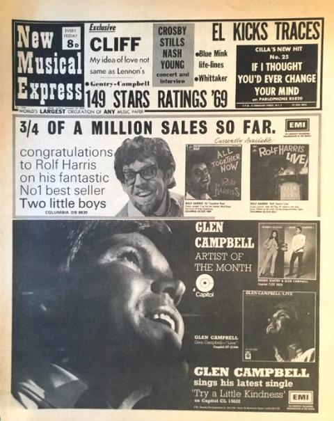 NME (January 10, 1970) a
