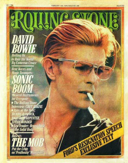 Rolling Stone #206 (February 12, 1976) cover