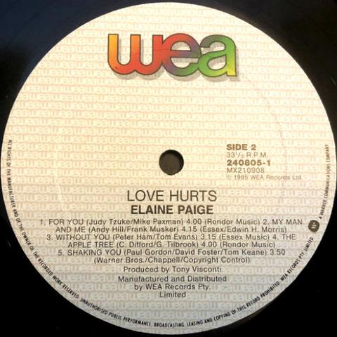 Elaine Paige - Love Hurts 240805-1 r2