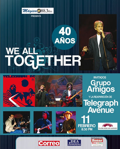 We All Together  40 años 2011