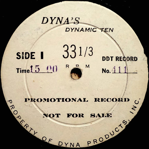 Dynamic Ten Dyna DDT 411 r