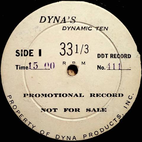 Dynamic Ten Dyna DDT 411 r
