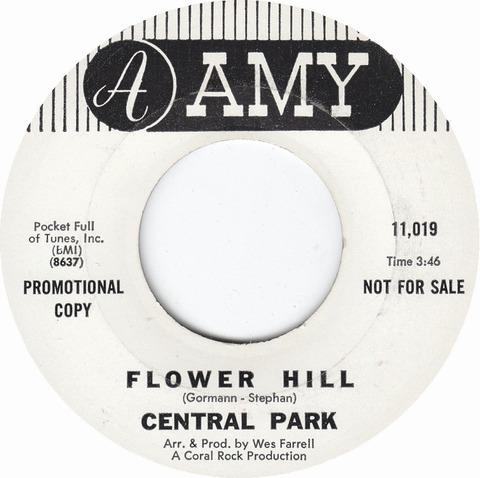 Central Park - Flower Hill (1968)