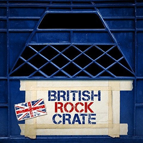 Come Down Hard British Rock Crate
