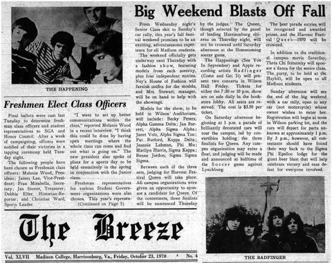 The Breeze October 23, 1970